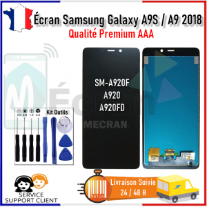 Ecran Samsung Galaxy A9 2018 A9S SM-A920F A920FD A920 LCD Vitre Tactile